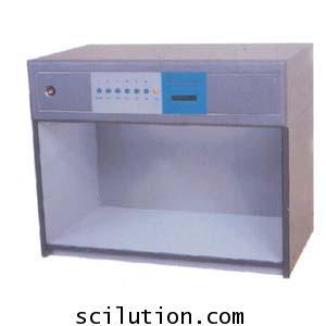 กล่องแสงเทียบสี ตู้เทียบสี ด้วยสายตาคน ชนิด 7 หลอด  Cabinet CAC-600-7