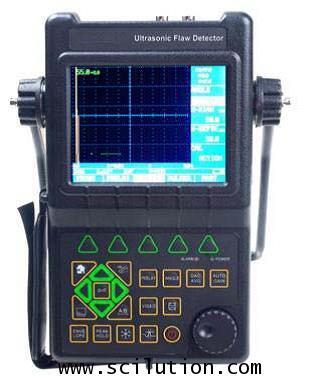 เครื่องตรวจจับข้อบกพร่องแบบอัลตราซาวด์แบบพกพา  Portable Ultrasonic Flaw Detector รุ่น TBT-UT650C