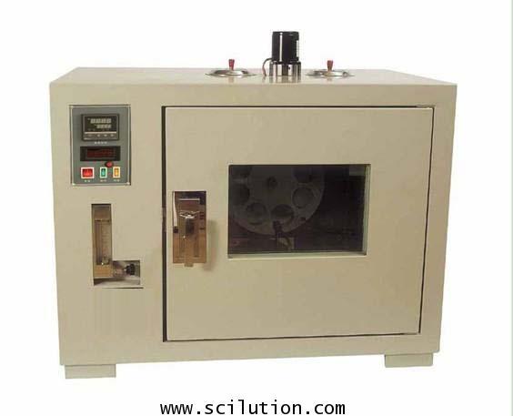 เตาอบเตาอบแอสฟัลท์ Asphalt Film Rotating Oven MODEL 85