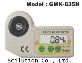 เครื่องวัดความเปรี้ยว กรดผลไม้ Fruit Acidity Meter รุ่น GMK-835N