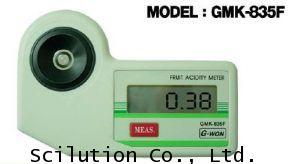 เครื่องวัดความเปรี้ยว กรดผลไม้ Fruit Acidity Meter รุ่น GMK-835F