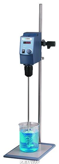 เครื่องกวนสาร แบบแกนหมุน LED Digital Overhead Stirrer Model OS40-S