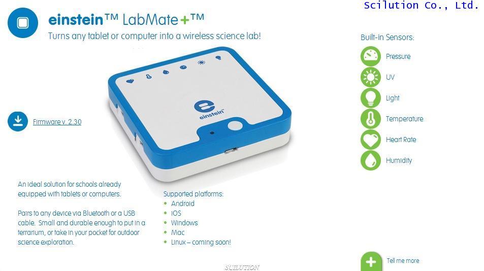 Einstein Labmate Datalogger 4 input transmit data