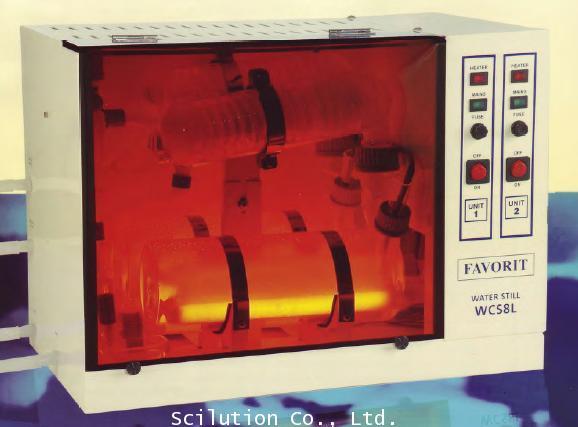 เครื่องกลั่นน้ำ น้ำสะอาด distillator รุ่น WCS-8L แบบกลั่น 8 ลิตร / ชม.