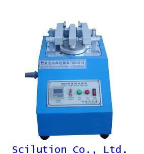 เครื่องทดสอบการถลอกผ้าอัตโนมัติ Automatic Fabric Abrasion Testing Machine HAIDA Model  HD-325 TABER