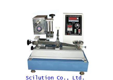 เครื่องทดสอบการขัดถูด้วยยาง  NBS Rubber Abrasion Test machine HAIDA Model HD-311