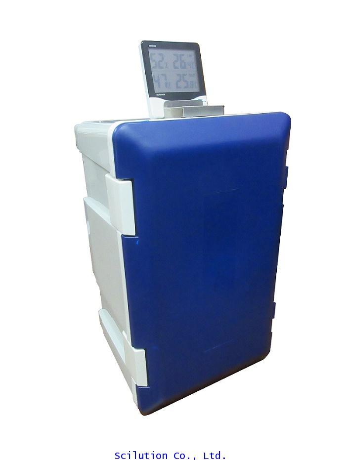 ตู้ดูดความชื้นรุ่น DE-20L ขนาด20ลิตร ทำจากพลาสติก ลดความชื้นด้วยซิลิกาเจลไฟฟ้า พร้อมแสดงผล ดิจิตอล