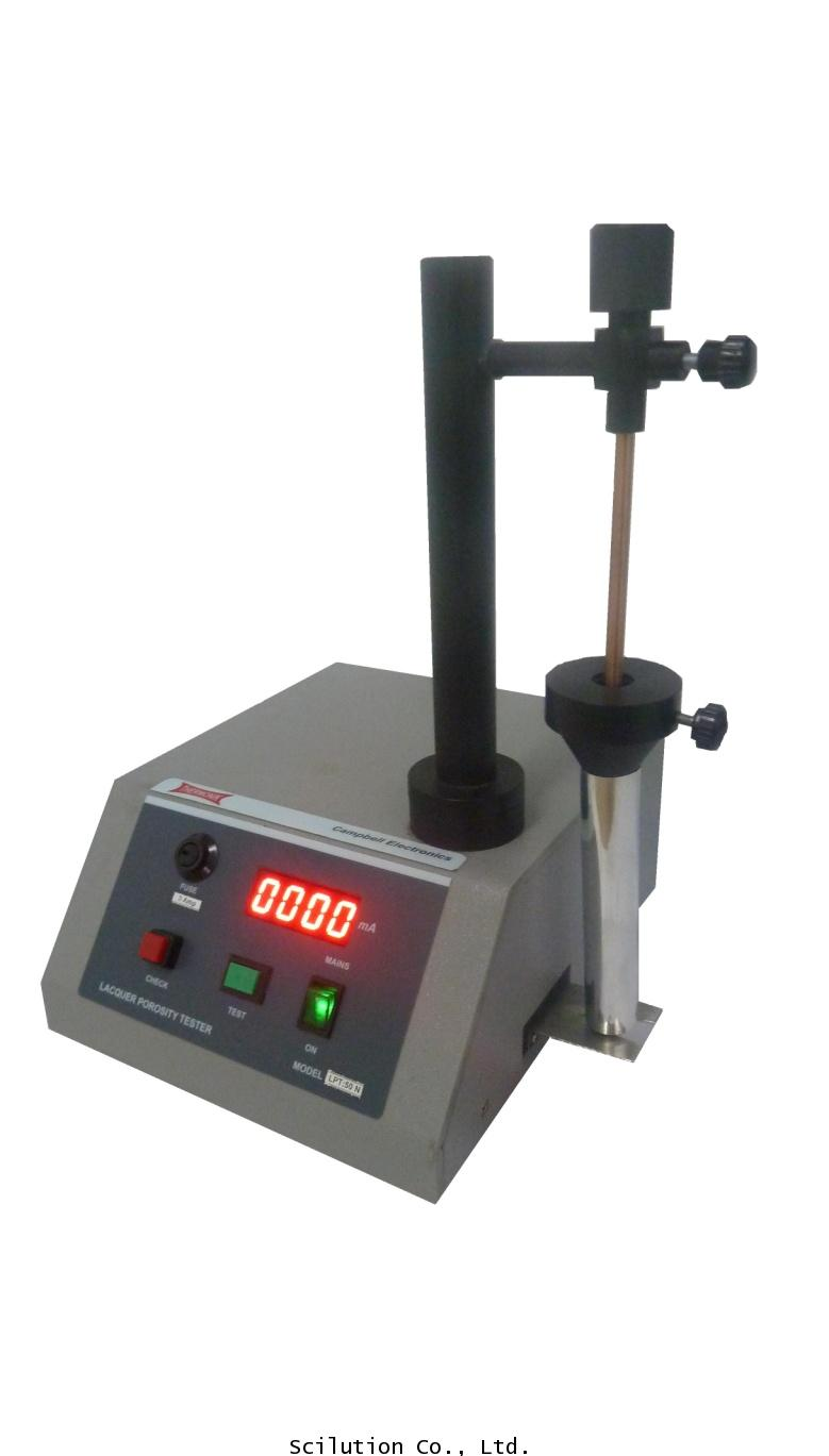 หลอดเคลือบเคลือบด้วยสารละลายทดสอบที่มีทองแดงซัลเฟต Lacquer Porosity Test Apparatus รุ่น LPT-50N