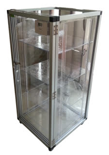 ตู้ลดความชื้น , Desiccator Cabinet แบบใช้ชุดควบคุม รุ่น DE-325LD 6