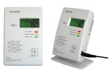 ตรวจสอบสภาพห้อง  / สัญญาณเตือนภัยแบบ IAQ: G02-VOC-B3 SERIES