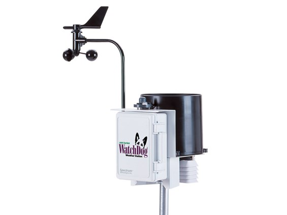 ชุดตรวจวัดสภาพอากาศ วัดความเร็วลม  WatchDog 2900ET Weather Station