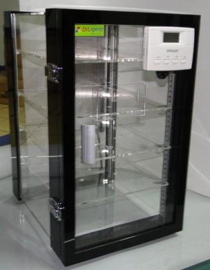 ตู้ควบคุมความชื้น  Desiccator Dry cabinet รุ่น DE-80AD  วัสดุพลาสติก ทนการกัดกร่อน เก็บสารเคมี