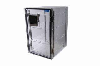 ตู้ลดความชื้นด้วยไฟฟ้า Desiccator Dry Cabinet Diligent รุ่น DE-80A ทำจากพลาสติก ขนาด 80 ลิตร