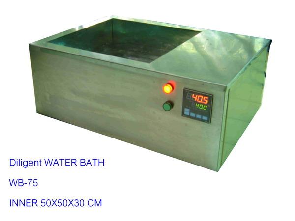 อ่างน้ำร้อน Water Bath 90 C ปริมาตร 75 ลิตร