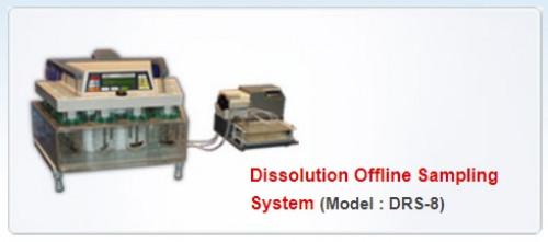 เครื่องทดสอบการละลายของยา Dissolution Offline Sampling System รุ่น DRS-8