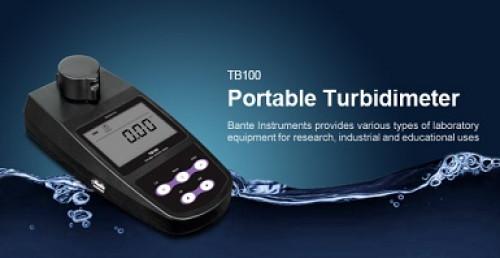 TB100 เครื่องวัดความขุ่น Turbidity แบบพกพา เครื่อง ความขุ่น Turbid Bante TB100 Portable Turbidimeter