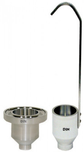 Viscometer Gardco / DIN 4mm Viscosity Cup แบบจับเวลา