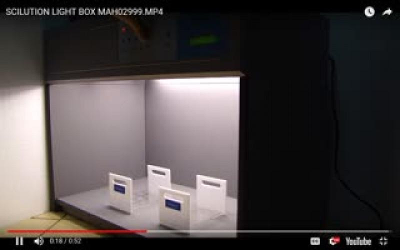 ตู้เทียบสี ตู้แสงเทียบสี เปรียบเทียบสี  วัดสี light Matching Box ตู้ดูสีงานพิมพ์รุ่น S65 2