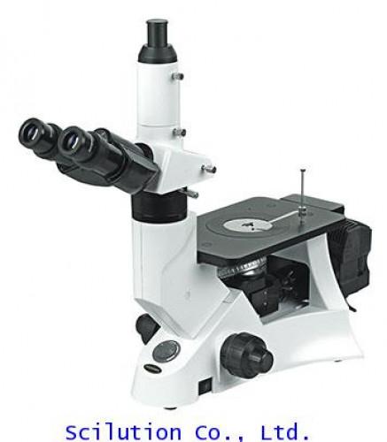 กล้องจุลทรรศน์ดูผิวโลหะ Inverted Metallurgical Microscope (BIM-8000)