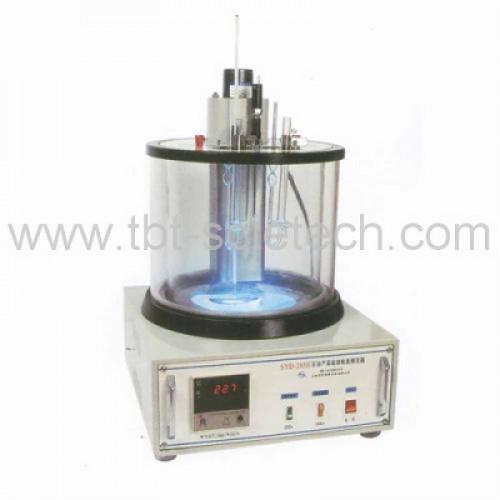 เครื่องวัดความหนืด  SYD-265E Asphalt Kinematic Viscometer (Capillary Method) ยางมะตอย