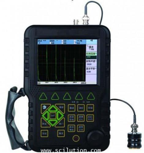 เครื่องวัดหา รอยร้าว เกิดตำหนิ ข้อบกพร่อง Ultrasonic Flaw Detector รุ่น TBT-UT350B