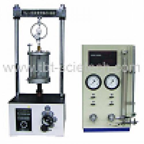 เครื่องมือทดสอบสามแกนทดสอบความเครียด TSZ-6A TSZ-6A Strain Controlled Triaxial Test Apparatus