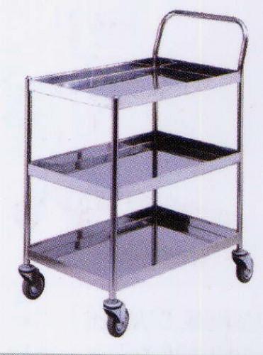 รถเข็นแสตนเลส Stailness cart CT-015
