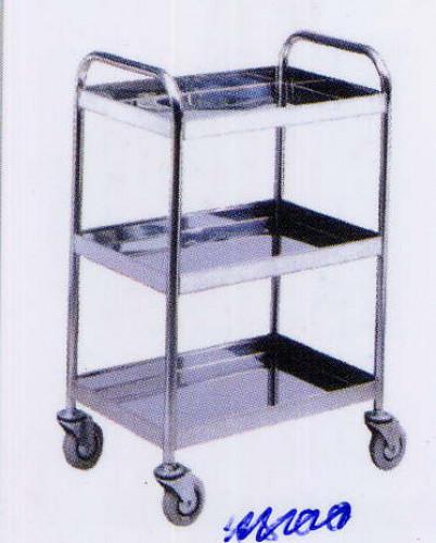 รถเข็นแสตนเลส Stailness cart CT-011
