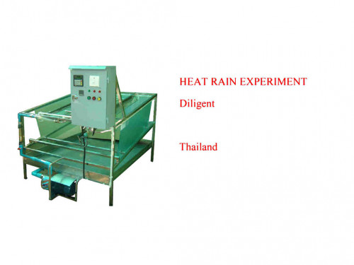 ชุดทดสอบกระเบื้องมุงหลังคา แบบร้อน และเปียก