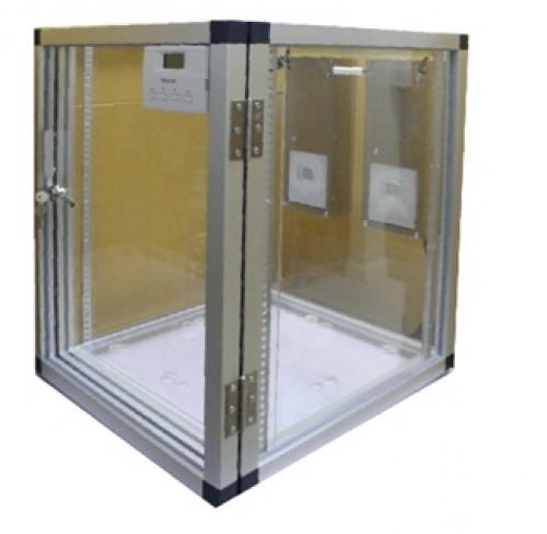 ตู้ดูดความชื้น ควบคุมความชื้น ลดความชื้น แบบใช้สารเคมีและชุดควบคุม รุ่น DE-90LD ขนาด90 ลิตร