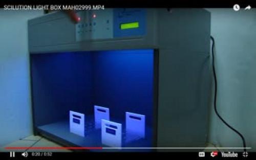 ตู้เทียบสี ตู้แสงเทียบสี เปรียบเทียบสี  วัดสี light Matching Box รุ่น S-60 1