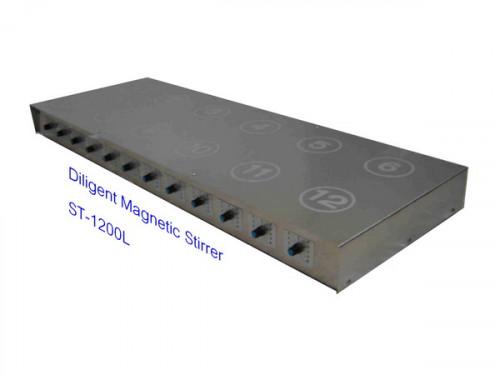 Magnetic Stirrer เครื่องกวนสาร 12 ตำแหน่งรุ่น ST-1200L