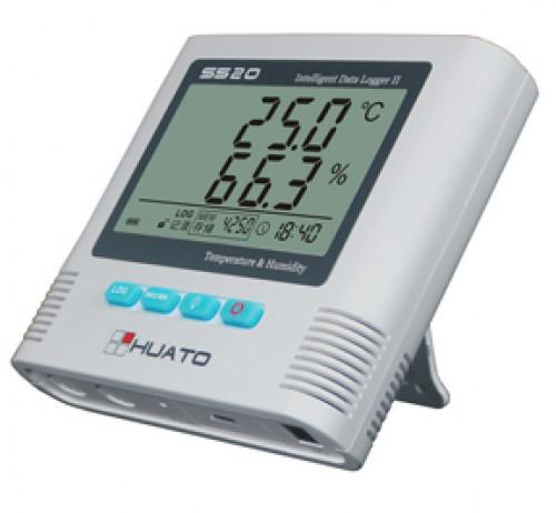 เครื่องวัดและบันทึกอุณหภูมิ ความชื้น Temperature and Humidity Data Logger Model S500-TH