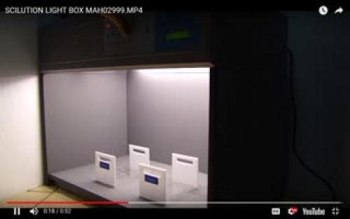 ตู้เทียบสี ตู้แสงเทียบสี เปรียบเทียบสี  วัดสี light Matching Box รุ่น S-60 2