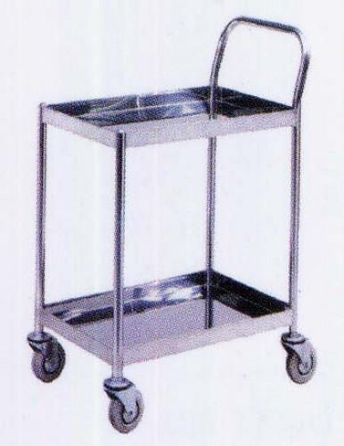 รถเข็นแสตนเลส Stailness cart CT-012