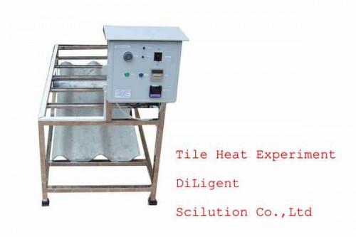 ชุดทดสอบกระเบื้องมุงหลังคา แบบร้อนและแบบฝน Heat Rain Tile experiment