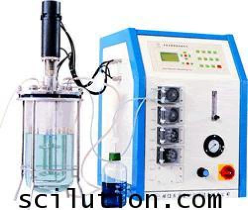 ถังหมัก เครื่องหมัก Machenical Stirred Glass Fermenter Model GBJT (EASTBIO)