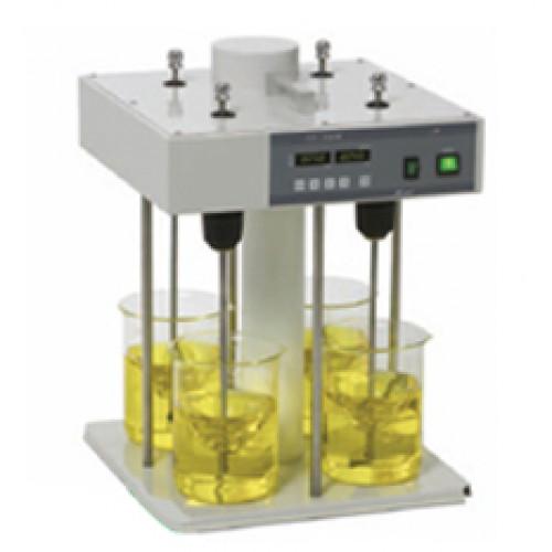 น้ำเสีย จาร์เทส เครื่องแกว่งสารให้ตกตะกอน เครื่องทดสอบการตกตะกอน ทดสอบ ตกตะกอน Jar Test SF-4 : MTOPS