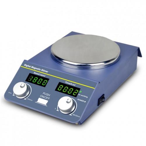 เครื่องกวนสาร ให้ความร้อน magnetic hotplate stirrer  SP-18 Digital controller
