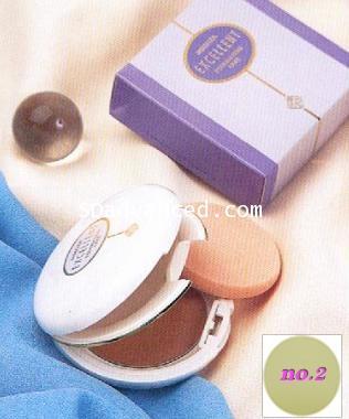 (ขายส่ง 3 ชิ้น) แป้งแต่งหน้า สมบูรณ์แบบ ...มิโมซ่า แป้งทูเวย์สูตรพิเศษ (เบอร์ 2:สีขาวเหลืองอ่อน)