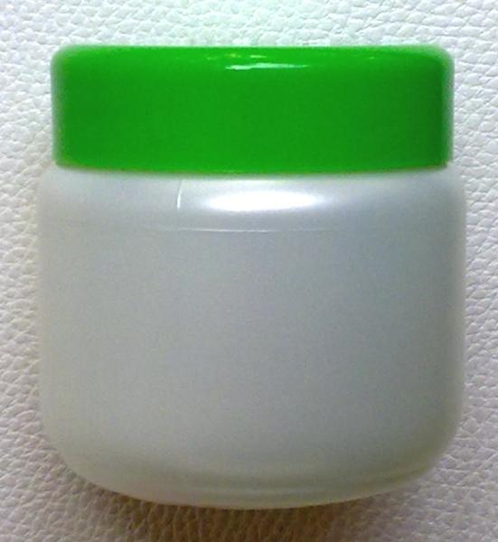 กระปุกครีมสีขาวมุก 200 มล.+ฝาสีเขียว (บรรจุ 100 ชิ้น)