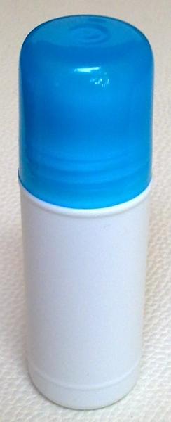 ชุดโรลออนขนาด 35 มล.+ฝาสีฟ้าใส+ลูกกลิ้ง (บรรจุ 100 ชิ้น)