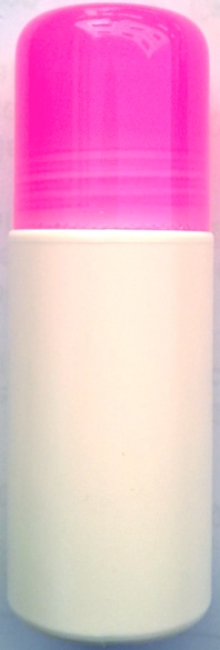 ชุดโรลออนขนาด 60 มล.+ฝาสีชมพูใส+ลูกกลิ้ง (บรรจุ 500 ชิ้น)