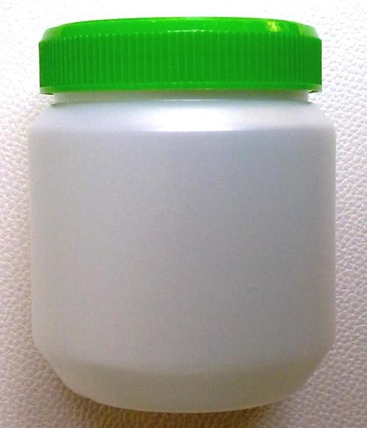 กระปุกครีมทาผิว 500 มล.+ฝาสีเขียว (บรรจุ 100 ชิ้น)
