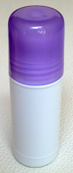 ชุดโรลออนขนาด 35 มล.+ฝาสีม่วงใส+ลูกกลิ้ง (บรรจุ 10 ชิ้น)