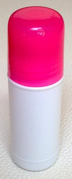 ชุดโรลออนขนาด 35 มล.+ฝาสีชมพูใส+ลูกกลิ้ง (บรรจุ 50 ชิ้น)