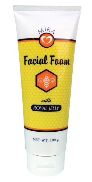 (ซื้อ2แถม1)ล้างหน้าสะอาด้วยน้ำผึ้ง ...มิร่า โฟมล้างหน้า (สูตรน้ำผึ้ง)
