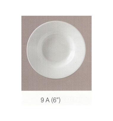 9A จานกลมทรงลึก 6 นิ้ว Flowerware