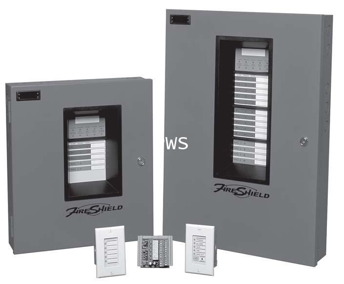 ตู้เตือนเพลิงไหม้ FireShield One to Ten Conventional Input Zones 1
