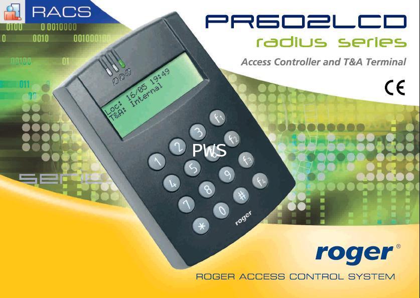 PR602LCD Single door access controller 1